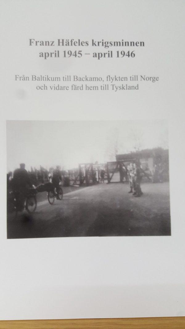 Franz Häfeles krigsminnen april 1945 – april 1946
